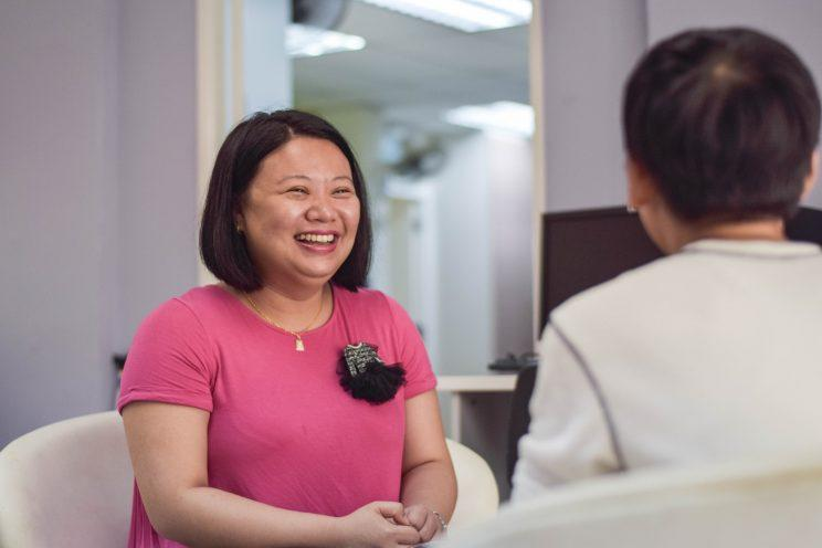 Singaporean Valerie Liu has recovered from schizophrenia, and is now working at the Caregivers Alliance. (Photo: Valerie Liu)