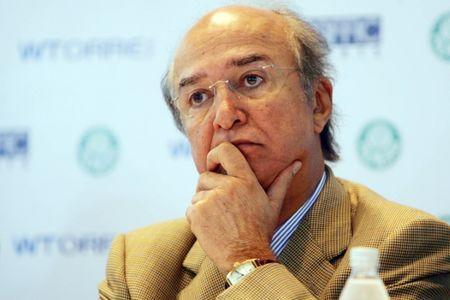 FILE PHOTO: The owner of Traffic Group, Jose Hawilla attends a meeting in Sao Paulo, Brazil, in this September 30, 2009 file photo. REUTERS/Gazeta Press/Fernando Pilatos