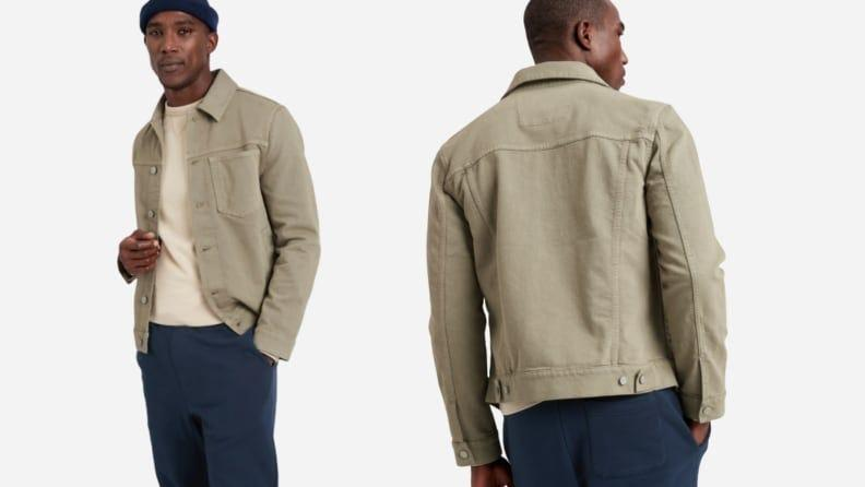 Spruce up any look with this neutral jacket