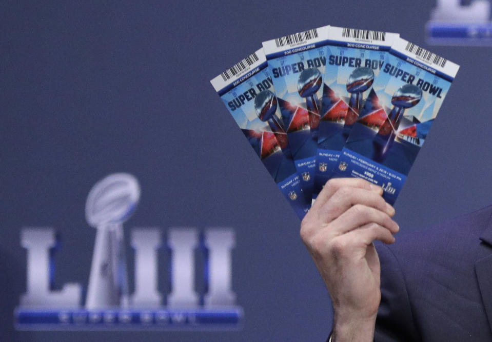 A Georgia man who skipped town after allegedly swindling friends and family in a Super Bowl ticket scam has been caught after nearly six weeks on the run. (AP)