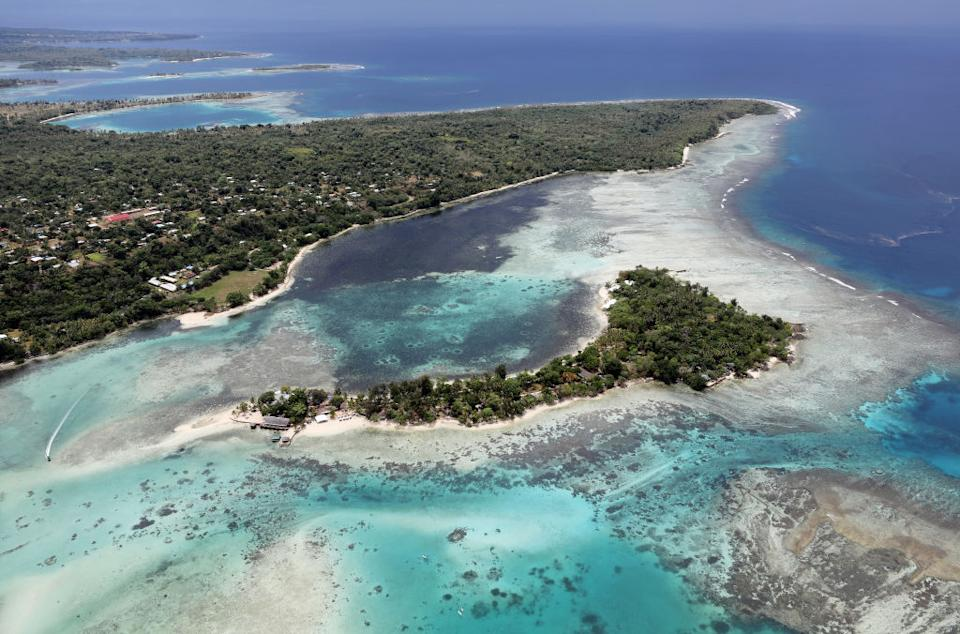 The body was found near Port Vila (pictured). Source: Getty