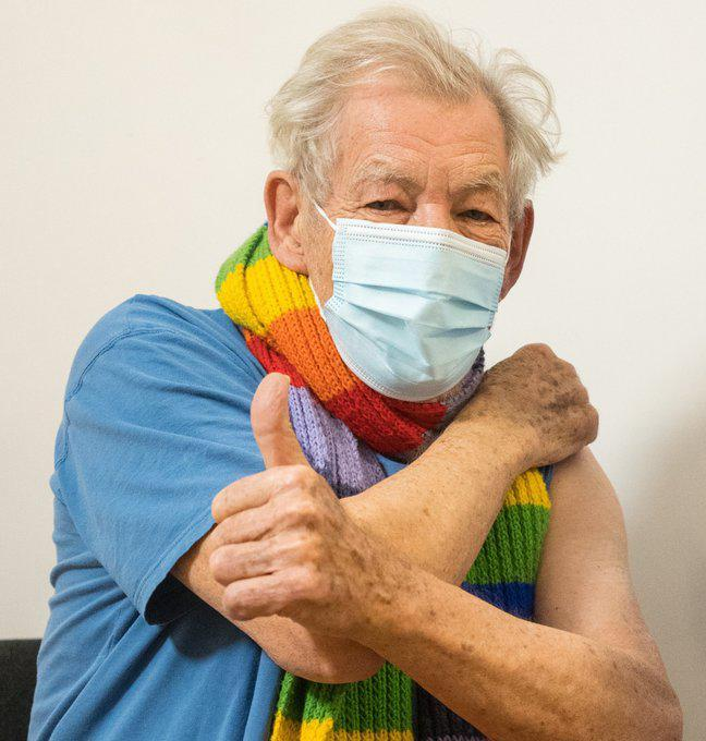 """<p>McKellen, 81, was given the first of two doses at London's Queen Mary's University Hospital <a href=""""https://people.com/movies/sir-ian-mckellan-euphoric-after-getting-the-coronavirus-vaccine/"""" rel=""""nofollow noopener"""" target=""""_blank"""" data-ylk=""""slk:on Dec. 16"""" class=""""link rapid-noclick-resp"""">on Dec. 16</a>, the <em>Evening Standard</em> <a href=""""https://www.standard.co.uk/news/uk/sir-ian-mckellen-coronavirus-vaccine-reaction-b344088.html"""" rel=""""nofollow noopener"""" target=""""_blank"""" data-ylk=""""slk:reported"""" class=""""link rapid-noclick-resp"""">reported</a>.</p> <p>""""It's a very special day, I feel euphoric,"""" <a href=""""https://twitter.com/NHSEnglandLDN/status/1339314869598818311"""" rel=""""nofollow noopener"""" target=""""_blank"""" data-ylk=""""slk:the Oscar nominee said"""" class=""""link rapid-noclick-resp"""">the Oscar nominee said</a>, per the British news outlet.</p> <p>""""Anyone who has lived as long as I have is alive because they have had previous vaccinations,"""" the <em>Lord of the Rings</em> star said, adding, """"the take up amongst the older generation will be 100 percent — it ought to be — because you're having it not just for yourself but for people who you are close to — you're doing your bit for society.""""</p> <p>McKellen said he felt """"very lucky to have had the vaccine,"""" and encouraged others to get it as well.</p>"""