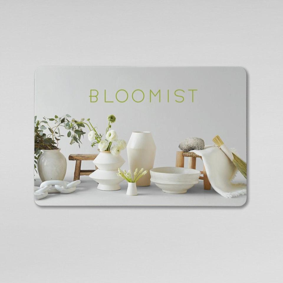 <p>From floral arrangements to self-care essentials, Bloomist offers a wide range of products that will be sure to bring relaxation and joy. Have them experience that with the gift of a <span>Bloomist E-Gift Card</span> ($150).</p>