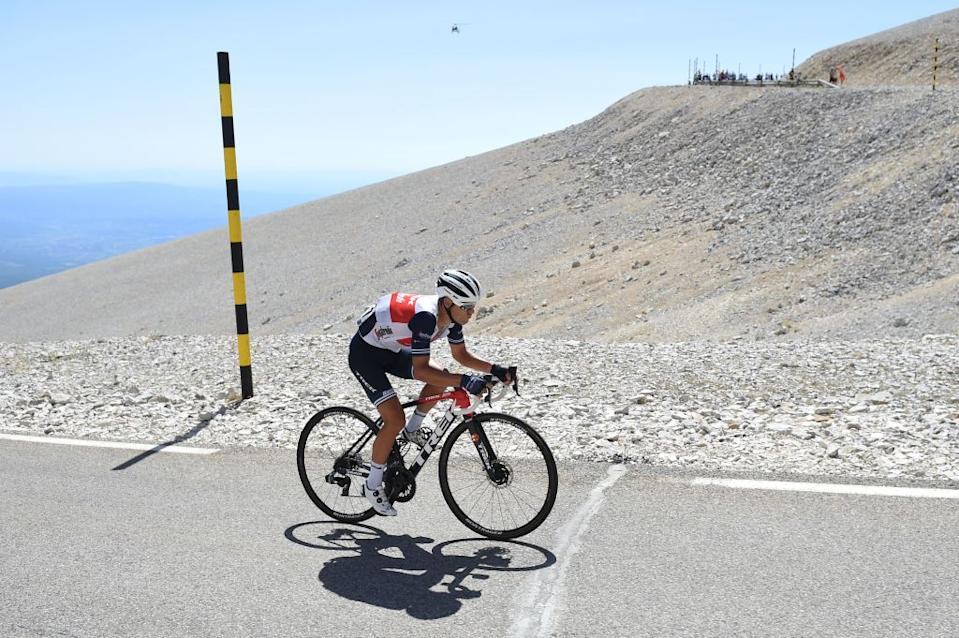 Australias Richie Porte of Team TrekSegafredo rides during the Mont Ventoux Denivele Challenge on August 6 2020 at the Mont Ventoux southern France  Mont Ventoux Denivele Challenge is a 182 kms one day race from VaisonLaRomaine to Mont Ventoux with nearly 4000 meters of ascending elevation Photo by Sylvain THOMAS  AFP Photo by SYLVAIN THOMASAFP via Getty Images