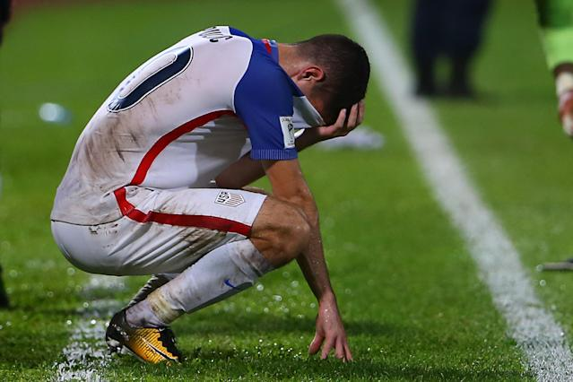 The United States' failure to reach Russia is among the biggest World Cup qualifying blunders ever. (Getty)
