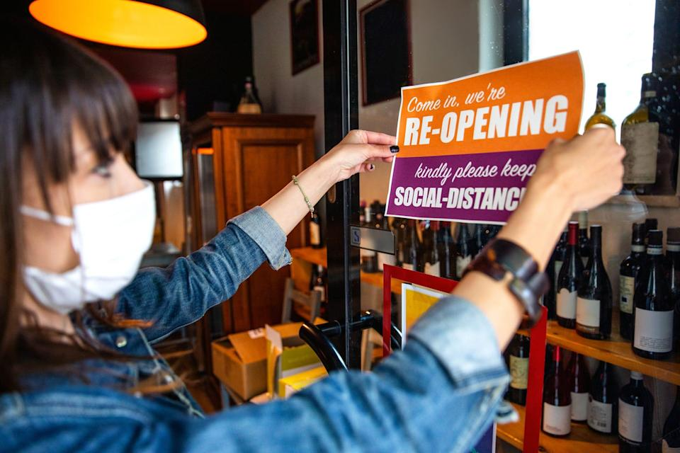 Many businesses are reopening amid the COVID-19 pandemic while others have been hit by new restrictions.