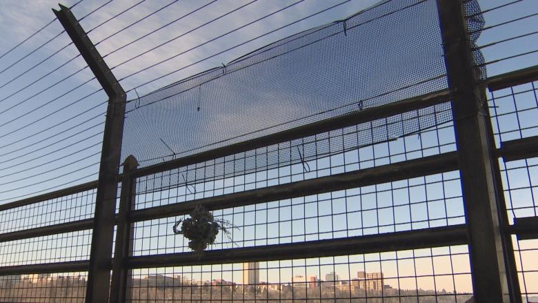 Suicide prevention barriers on High Level Bridge vandalized 2nd time