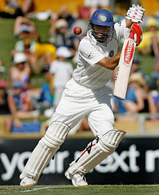 In 2008, Dravid made 93 in the first innings of the Perth test as India won the match. However, he was ignored by selectors for the subsequent one-day tri-series.