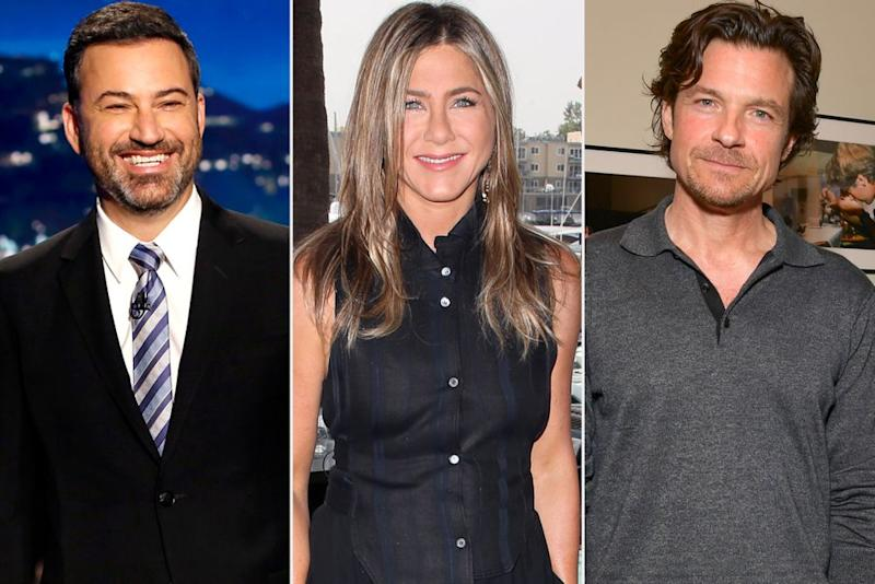 Jimmy Kimmel, Jennifer Aniston, Jason Bateman | Getty(3)