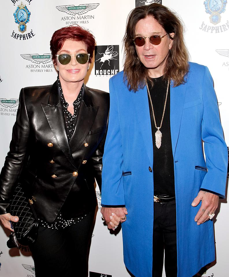 "<p>Sharon shocked fans in May 2016, when she appeared to confirm headlines that she and Ozzy had split after 33 years of marriage because of his affair with a hairdresser. On her show <i>The Talk</i>, Sharon explained that she had left the home she shared with the rocker. ""It's right for me because I honestly at this point today have no idea what I'm going to be doing with the rest of my life,"" she shared. ""I don't know where I'm going, who I'm going with. And I just need time to think."" Two months later, however, Ozzy confirmed that the two were ""<a rel=""nofollow"" href=""https://www.yahoo.com/celebrity/ozzy-osbourne-calls-cheating-rumors-144943764.html"">back on track again</a>."" (Photo: Tibrina Hobson/WireImage) </p>"