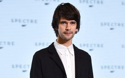 Ben Whishaw at the premiere for Spectre, 2014