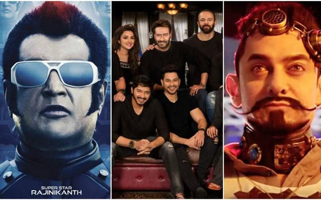 Baap of all box-office clashes! It's Golmaal Again vs 2.0 vs Secret Superstar this Diwali