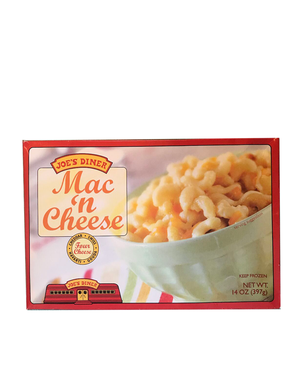 <p>A classic, and 100% better than the grocery store boxed kind — you can actually taste the four cheeses.</p>
