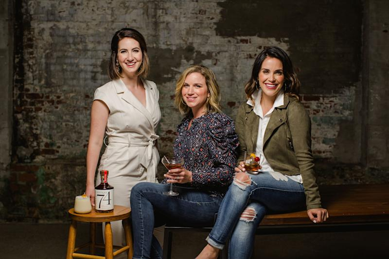 Founders Lexie Larsen, Abey Ferguson and Lauren Chitwood began Spiritless for people who want to live fully but drink differently.