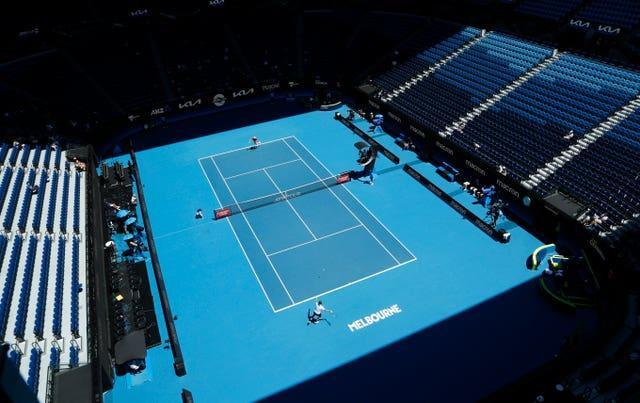 There will be no play at the warm-up tournaments in Melbourne on Thursday ( Hamish Blair/AP)