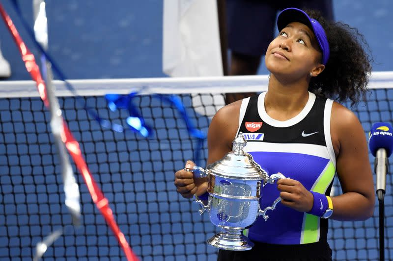 We're lucky to have Osaka as a leader, says King