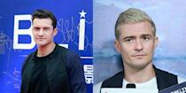 """<p>Is Orlando Bloom wondering if blondes have more fun? The natural brunette debuted his blonde locks in September for his role in """"S.M.A.R.T Chase: The Dragon and Phoenix."""" <i>(Photos: Getty/September 2016) </i> </p>"""