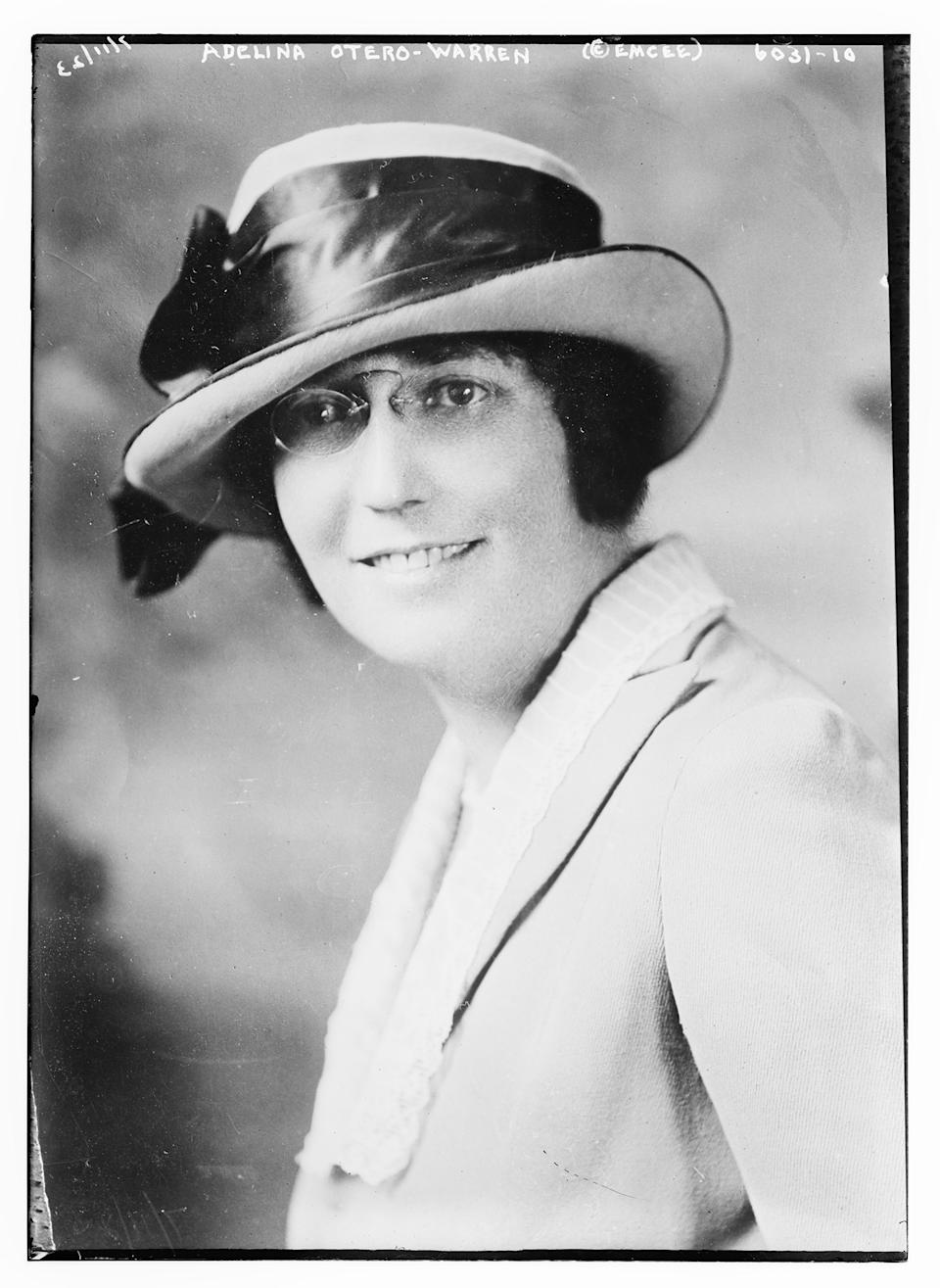 """A 1923 photo of New Mexico suffragist Nina Otero-Warren, who lobbied her state's legislators to ratify the 19th Amendment.<span class=""""copyright"""">George Grantham Bain Collection—Library of Congress</span>"""