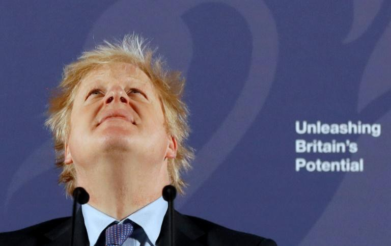 Prime Minister Boris Johnson pledged to restore full sovereign controls over a number of areas as Britain and the EU begin to ponder their post-Brexit future (AFP Photo/Frank Augstein)