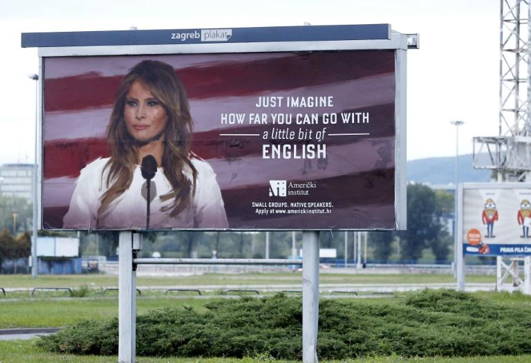 The American Institute school in Zagreb, Croatia, has now removed the adverts