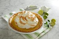 "<p>Key lime pie, a signature sweet from Florida, is one of <a href=""https://www.thedailymeal.com/cook/iconic-state-desserts-gallery?referrer=yahoo&category=beauty_food&include_utm=1&utm_medium=referral&utm_source=yahoo&utm_campaign=feed"" rel=""nofollow noopener"" target=""_blank"" data-ylk=""slk:the most iconic desserts in America"" class=""link rapid-noclick-resp"">the most iconic desserts in America</a>. Don't sweat finding Key limes and juicing the tiny fruits. You can just use bottled juice for easier baking.</p> <p><a href=""https://www.thedailymeal.com/best-recipes/key-lime-angel-pie?referrer=yahoo&category=beauty_food&include_utm=1&utm_medium=referral&utm_source=yahoo&utm_campaign=feed"" rel=""nofollow noopener"" target=""_blank"" data-ylk=""slk:For the Key Lime Angel Pie recipe, click here."" class=""link rapid-noclick-resp"">For the Key Lime Angel Pie recipe, click here.</a></p>"