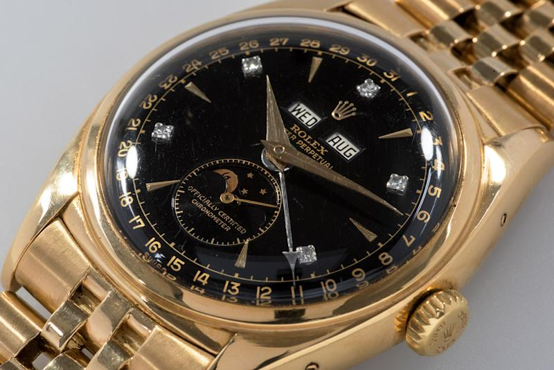 Rare Rolex sells at Phillips for world record $5 million