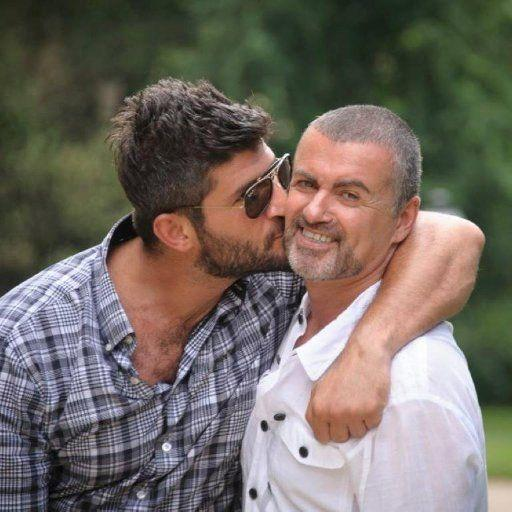 Queensland-born hair stylist Fadi Fawaz (pictured left) paid tribute to his partner, George Michael, on social media. Source: Twitter