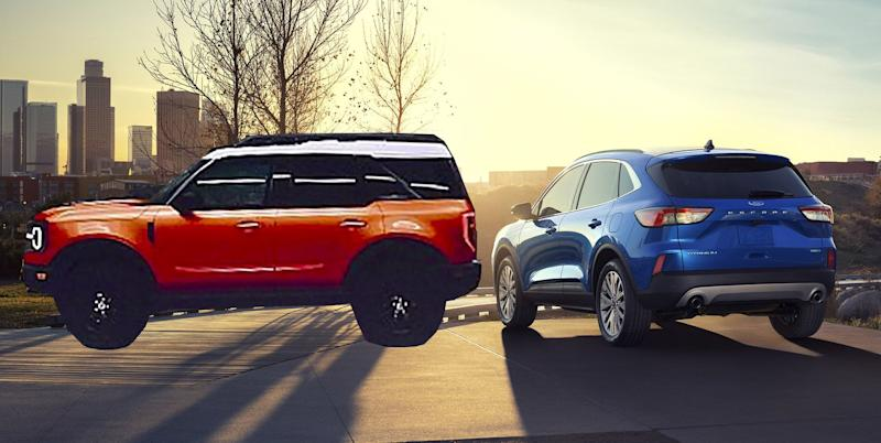 """Why Does the 2020 Ford Escape Look So Carlike? To Leave Space for the """"Baby Bronco"""" SUV"""