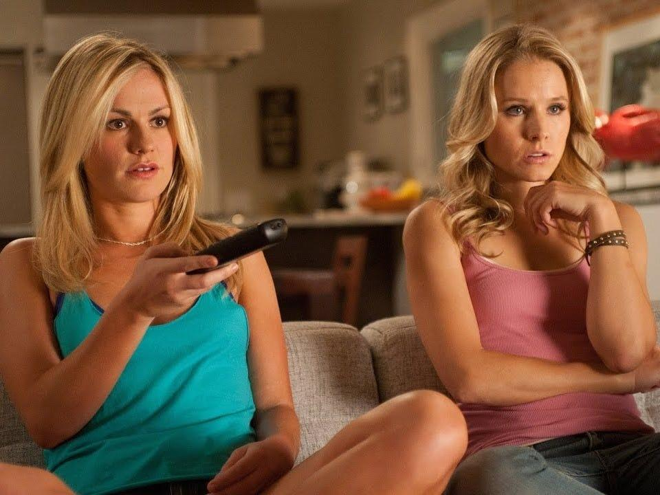 "Anna Paquin and Kristen Bell appeared in ""Scream 4."""