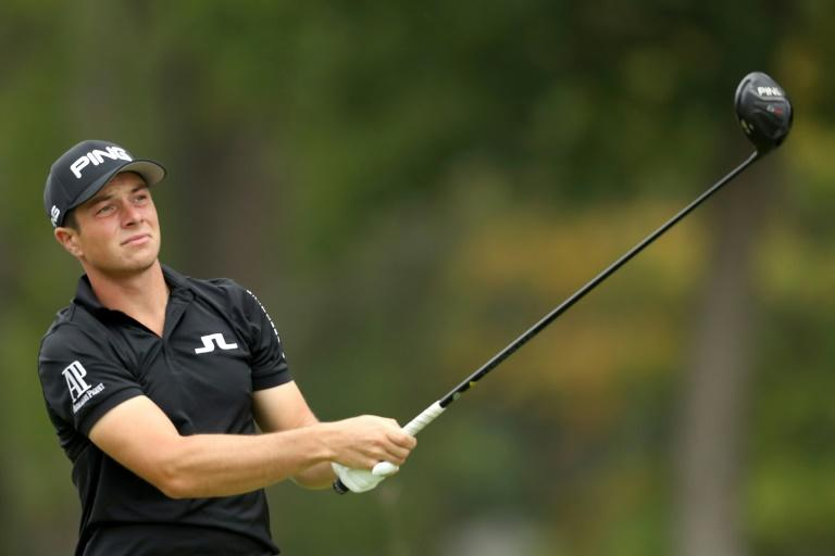 Victor Hovland broke set a new PGA Tour record at the CJ Cup with his 18th consecutive round in the 60s