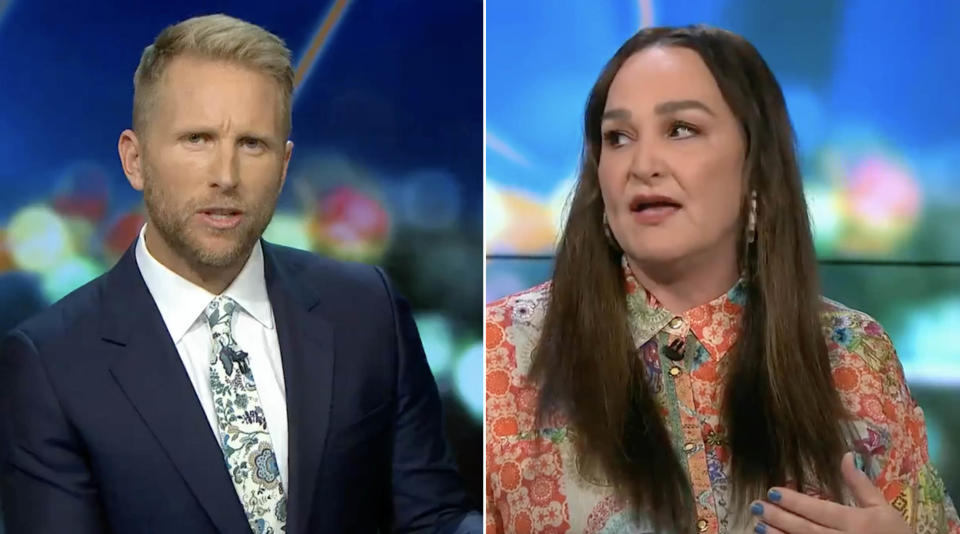 The Project hosts Hamish Macdonald and Kate Langbroek