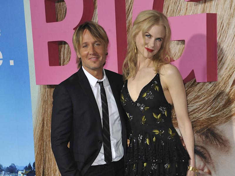 Nicole Kidman celebrated her 40th birthday with fireworks spectacular