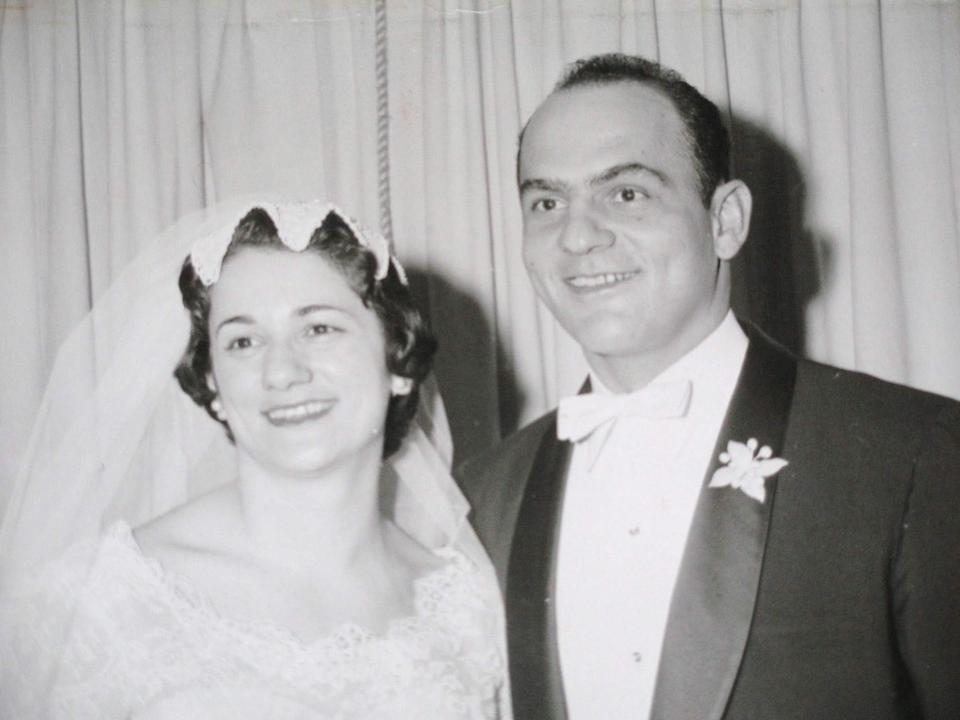 Nick and Marion have been married for 61 years (Photo: Chris Avtges)