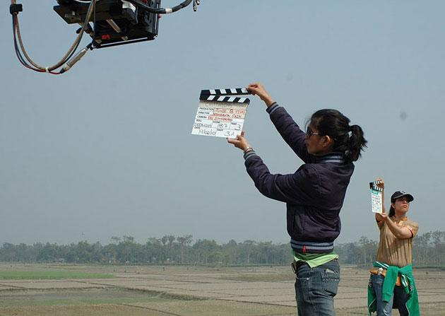 Photos from the sets of the movie Chittagong