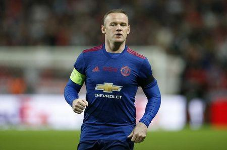 FILE PHOTO: Football Soccer - Ajax Amsterdam v Manchester United - UEFA Europa League Final - Friends Arena, Solna, Stockholm, Sweden - 24/5/17 Manchester United's Wayne Rooney Reuters / Andrew Couldridge Livepic