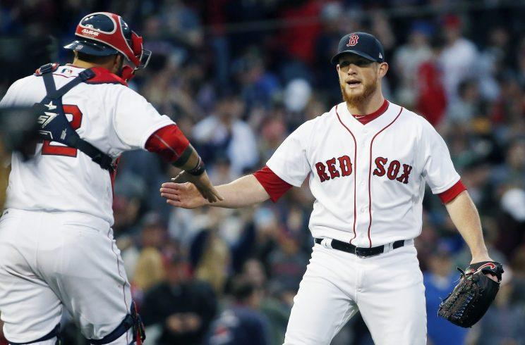 Cragi Kimbrel struck out four in one inning to tie a major-league record. (AP Photo)