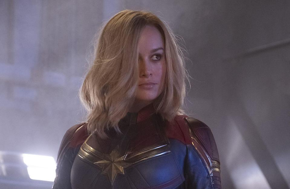 Larson in Captain Marvel (Credit: Disney/Marvel)
