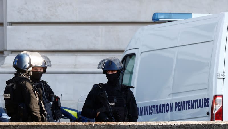 The trial of the Paris' November 2015 attacks at Paris courthouse