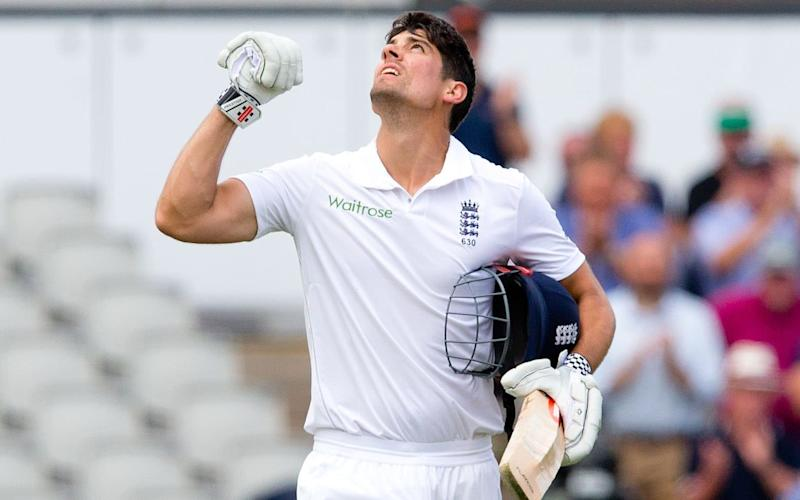 Alastair Cook is free of the burdens of captaincy - Rex Features