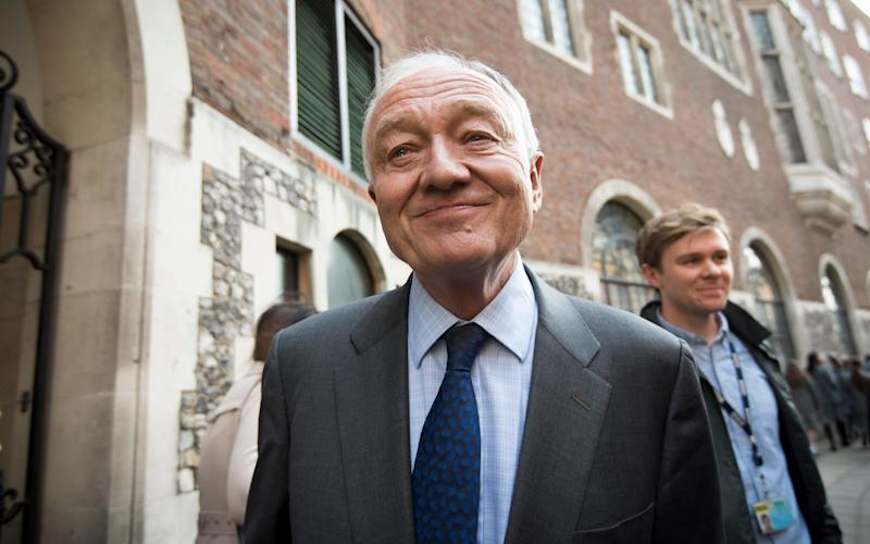 Ken Livingstone arriving at Church House for a Labour Party disciplinary hearing - Credit: Geoff Pugh