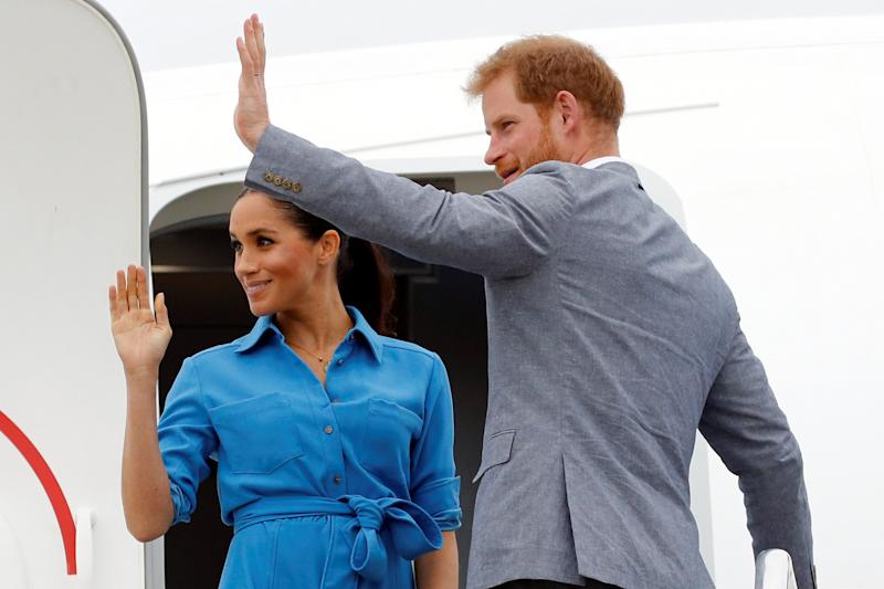 Royal couple bid Australia farewell as they head to New Zealand