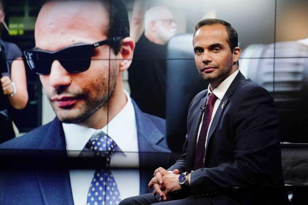 PHOTO: George Papadopoulos, a former member of the foreign policy panel to Donald Trump's 2016 presidential campaign, poses for a photo before a TV interview in New York, March 26, 2019. (Carlo Allegri/Reuters, FILE)
