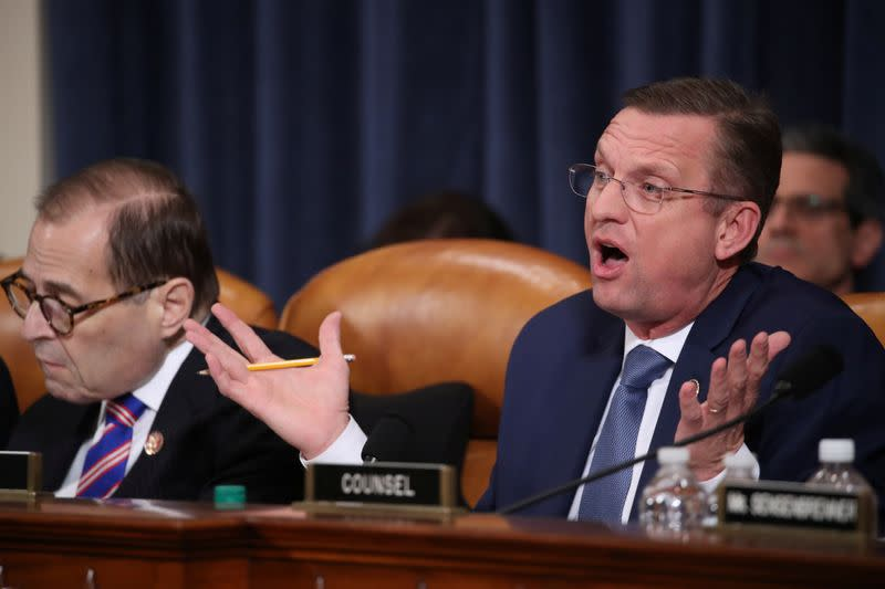 House Judiciary Committee holds hearing on Trump impeachment inquiry on Capitol Hill in Washington