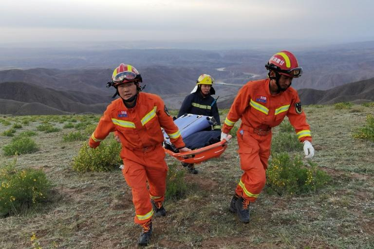 Rescuers were dispatched after the ultramarathon's organisers received calls for help
