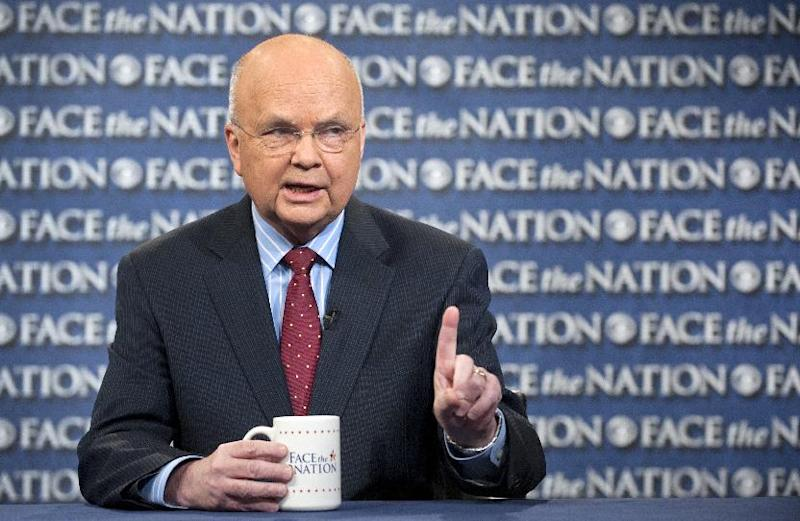 "In this Sunday, June 30, 2013, photo provided by CBS News former CIA and and National Security Agency director Michael Hayden speaks on CBS's ""Face the Nation"" in Washington. Hayden called for more transparency on secret US surveillance program to reassure Americans that their privacy rights are being protected. He said people would be more comfortable with the programs if they knew more about how and why they are carried out. Hayden defended the Foreign Intelligence Surveillance Court, that approves government requests together records. (AP Photo/CBS News, Chris Usher)"
