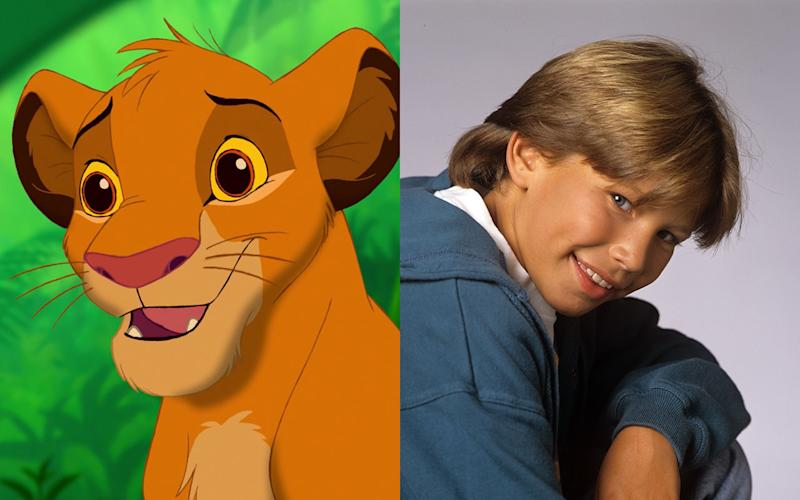 Jonathan Taylor Thomas – Young Simba in 'The Lion King' (1994) - Credit: Disney/Getty
