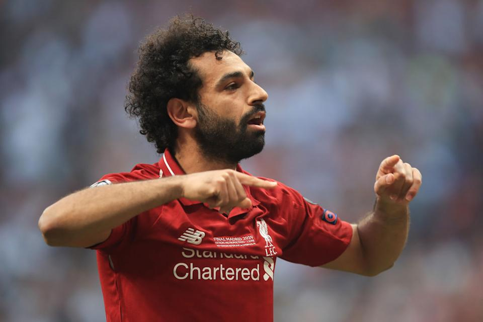 <strong>Mohamed Salah</strong> (27 ans) : Liverpool / Égypte.