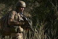 French troops have ranged into Mali's neighbour Burkina Faso as part of the Barkhane mission