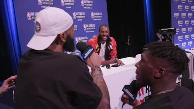 The HOLDAT Podcasts' Nate Robinson and Carlos Boozer catch up with Heat guard and three-point contest participant Wayne Ellington at NBA All-Star media day.