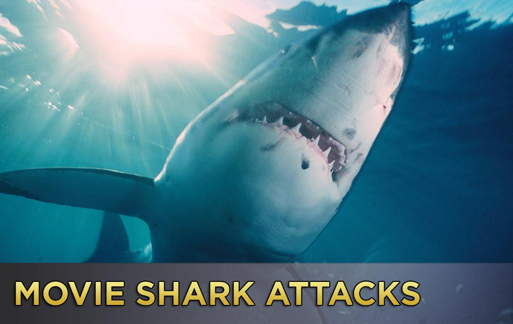 """Discovery Channel is celebrating 25 years of <a href=""""http://tv.yahoo.com/features/shark-week/#fb"""">TV's Shark Week</a>, and since we're never ones to pass up a good celebration, we've put together a gallery of some of the scariest and funniest cinematic shark attacks. Obviously """"Jaws"""" is the most iconic, but sharks have been terrifying and delighting audiences for years. So have yourself a photographic feeding frenzy and click ahead to see the pics!"""